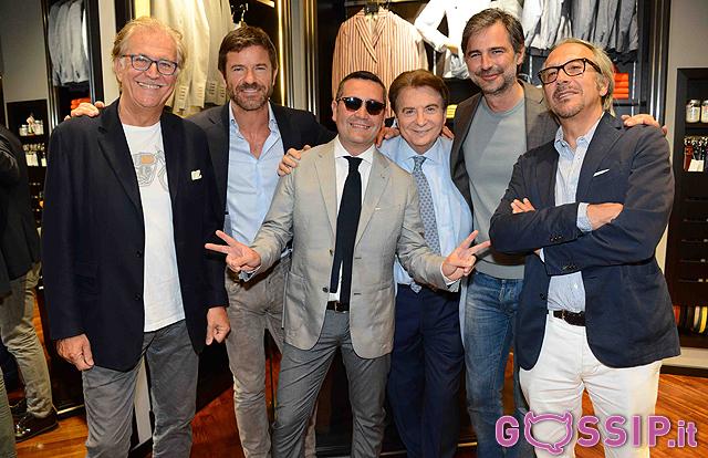 Marco Predolin, Paolo Conticini, Paolo Limiti, Beppe Convertini e Marco Balestri