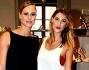 Melissa Satta e Federica Pellegrini da Le Silla in occasione della Fashion Week