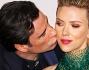 John Travolta e Scarlett Johansson