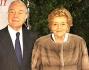 Gianni Letta con la moglie Maddalena