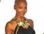 La modella Youma Diakite