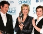 Cory Monteith, Jane Lynch e Chris Colfer