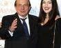 Giancarlo Magalli con la figlia