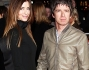 Noel Gallagher e Sarah McDonald alla mostra su David Bowie