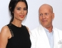 Emma Heming e Bruce Willis  al Westwood Village Theatre