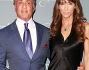 Jennifer Flavin e Sylvester Stallone sul blue carpet all'Unicef Ball