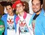 Gianluca Lanzillotta, Vincenzo Mingolla, Adriano Bettinelli e Antonino Spadaccino all'Adidas Originals Party