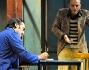 Alessio Di Clemente e Nicolas Vaporidis sul palco di 'Lo Sfascio'