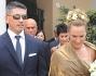 L\'ex naufraga dell\'Isola dei Famosi Susanna Torretta si è sposata a Rapallo con Giorgio Ranieri, libero professionista genovese