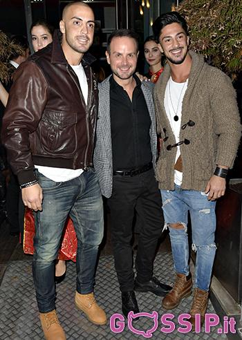 Stefano Maniscalco, Antonello Lauretti e Emanuele Bruno