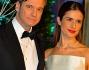 Colin Firth e Livia Giuggioli in occasione del Winter Whites, il gala d'inverno organizzato al Kensington Palace