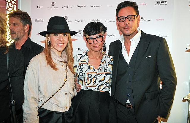 Lisa Marzoli con Sonia Rondini e Antonio-Brosio