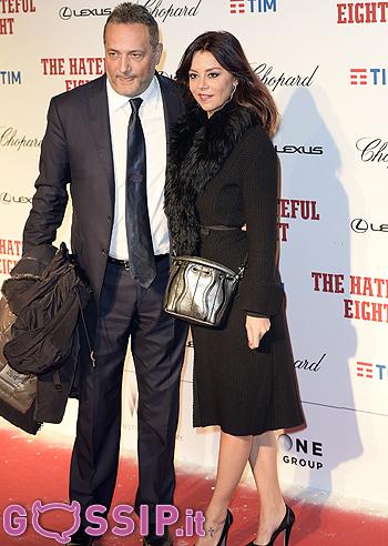 Claudio Brachino con la moglie Barbara Benedettelli