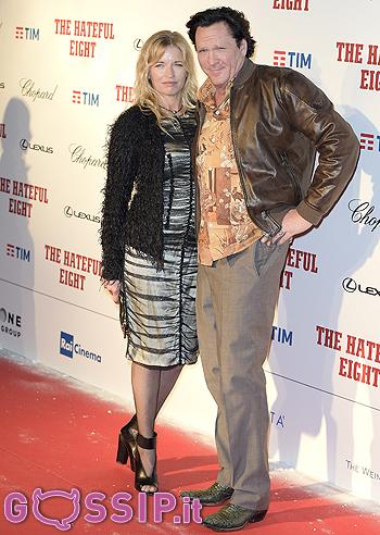 Michael Madsen e Anna Morgan