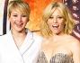 Jennifer Lawrence bellissima in Dior insieme ad Elizabeth Banks