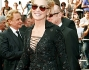 Sharon Stone ha sfoggiato un mini abito nero con pailettes che ha messo in risalto le sue gambe lunghissime