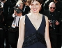 Alice Rohrwacher sul red carpet dell'ultima serata del Festival di Cannes