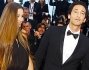 Lara Lieto e Adrien Brody sul red carpet dell'ultima serata del Festival di Cannes