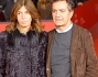 Pietro Valsecchi con la moglie