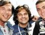 Mauro Marin con Valerio Merola ed il campione Maxime Berger  a Monza per il \'Superbike\'
