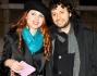 Metis Di Meo con il fidanzato Andrea mondana nella Capitale