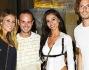 Antonello Lauretti con Diletta Leotta, Rachele e Federico Marchetti.