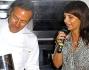 Tosca D'Aquino ai fornelli con Filippo La Mantia