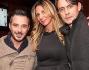 Pippo Inzaghi ed Alessandra Grimoldi festeggiano al party pre natalizio