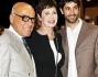 Corinne Clery ed Angelo Costabile con il responsabile Ilario Piscioneri