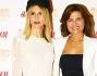 Nicoletta Romanoff e Tosca D'Aquino posano sul red carpet romano