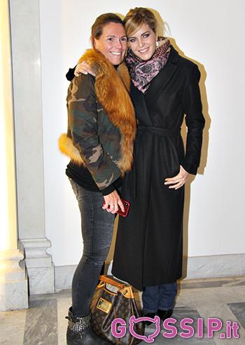 Elisabetta Pellini con una sua carissima amica