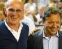 Arrigo Sacchi, Piero Chiambretti e Gianni Rivera