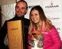 Anastasia Kuzmina con Valerio Staffelli per 'Neve da star'