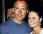 Giorgio Mastrota con la figlia Natalia Jr avuta dalla showgirl spagnola Natalia Estrada
