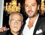 Rossano Rubicondi con lo stilista Carlo Pignatelli