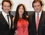 Alex Pacifico con Antonio Gavezzeni e Barbara Ovieni