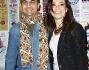 Roberta Lanfranchi e Emanuele Del Greco alla prima di 'Jesus Christ Superstar' al Sistina