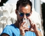 Luca Marin paparazzo al Tennis & Friends 2014