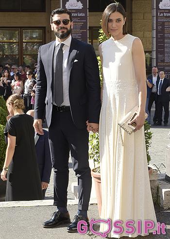 Anna Foglietta con il marito Paolo Sopranzetti