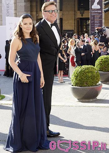 Christian De Sica con la figlia Maria Rosa