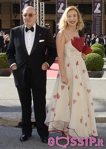 Francesca Lo Schiavo e Dante Ferretti