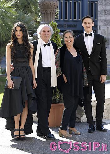 Vittorio Storaro con la famiglia