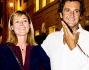Elisabetta Ferracini con il compagno alla Vogue Fashion Night