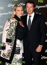 Simona Ventura e Ger� Carraro alla prima di Wayward Pines a Roma: le foto