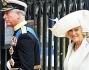 Il principe Carlo entra nell\'Abbazia di Westminster insieme alla moglie Camilla Parker Bowles