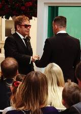 Elton John e David Furnish, nozze bis condivise su...