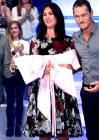 SILVIA TOFFANIN DOPO IL PARTO IN TV A VERISSIMO