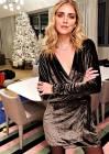 Chiara Ferragni mostra il look scelto per la semifinale di 'X Factor' e tifa Naomi