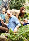 George, Charlotte e Louis al Chelsea Flower Show con Kate Middleton e il principe William