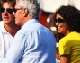 Afef con il marito Marco Tronchetti Provera  in vacanza a Portofino